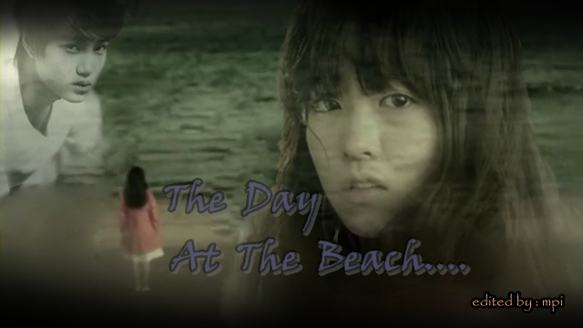THe Day At The Beach Poster