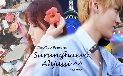 ~Saranghaeyo Ahjussi^^~ Chapter 3 Cover