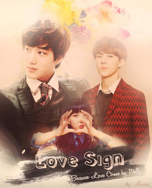 Love Sign posutaa