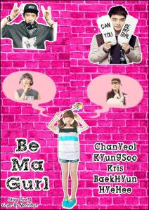 Be Ma Gurl Poster1