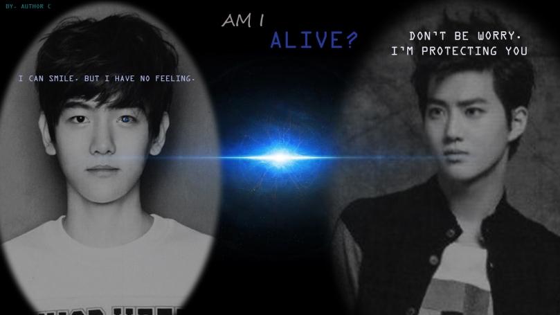AM I ALIVE poster.