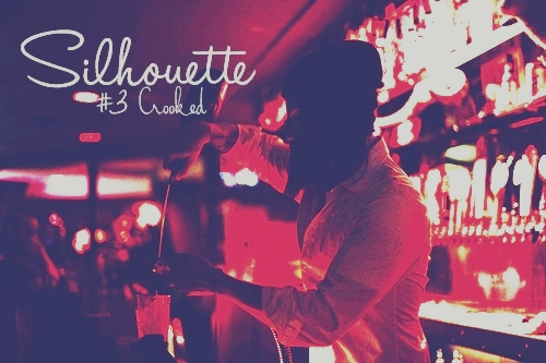 (3)SILHOUETTE CROOKED POSTER