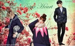 poster paper heart